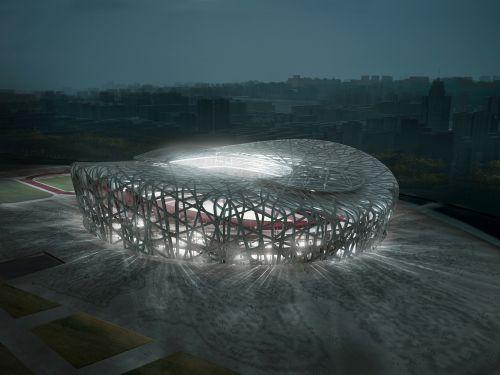 Проект Олимпийского стадиона в Китае