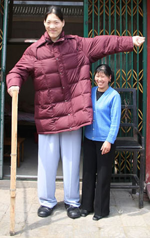 Самая высокая женщина в мире