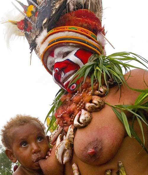 Папуа - Новая Гвинея : Папуасы