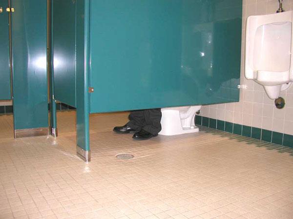 Туалетный сторож