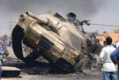 Ирак : Подбитые танки