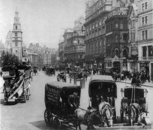 Путешествие по старому Лондону : Лондон начала ХХ века