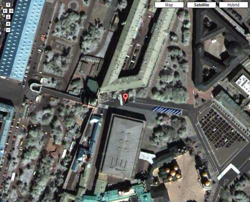 Твой ip на карте Google