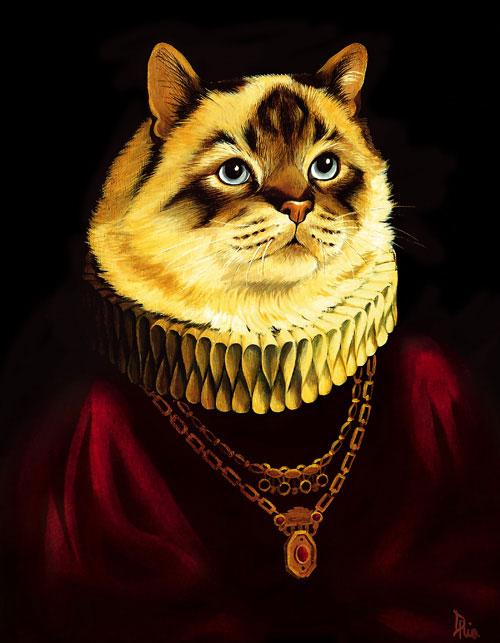 Коты-артисты