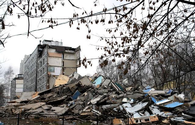 Как взрывали дом