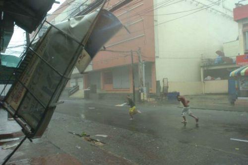 Циклон на Филиппинах