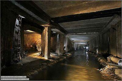 Подземелья Москвы : река Неглинка
