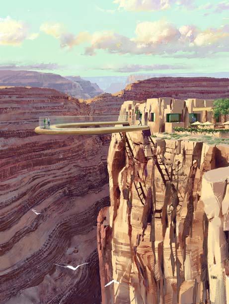 Прогулка над каньоном