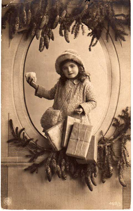 Старые рождественские открытки