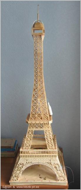 Эйфелево башня своими руками