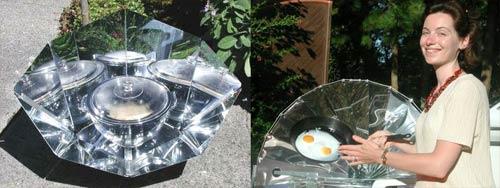Солнечная печка