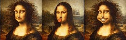 Анимированная Мона Лиза