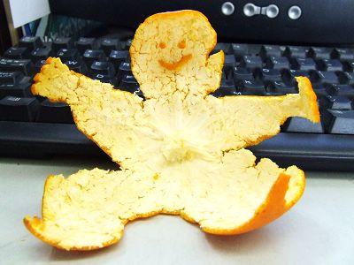 Апельсиновая анимация