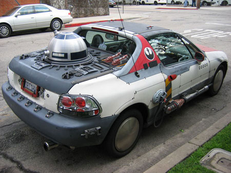 Прикольный тюнинг Honda Civic