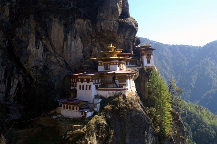 Taktshang - знаменитый монастырь в Бутане
