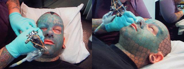 Татуировка на глазах