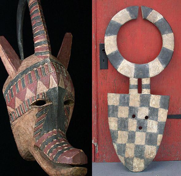 Уникальные африканские маски