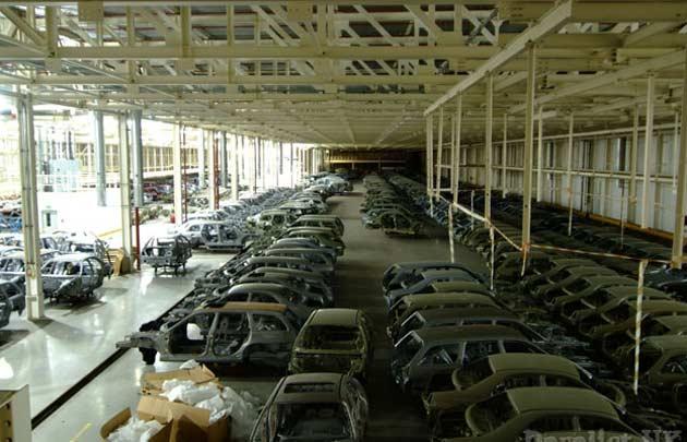 Остановленный завод Rover