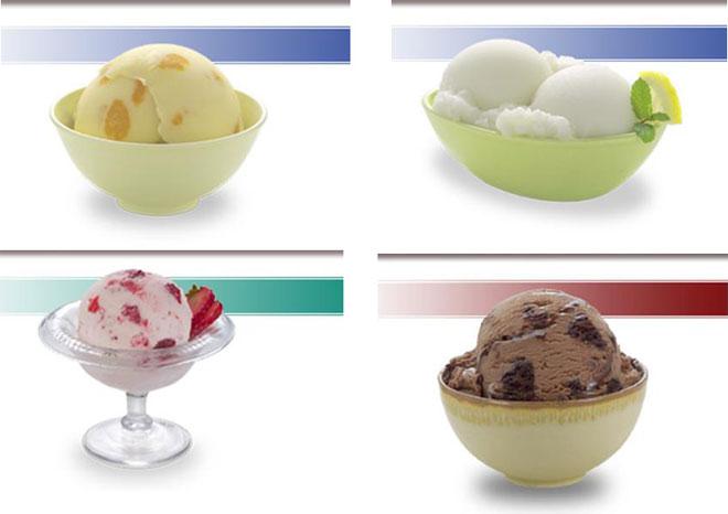 Вкусное мороженое