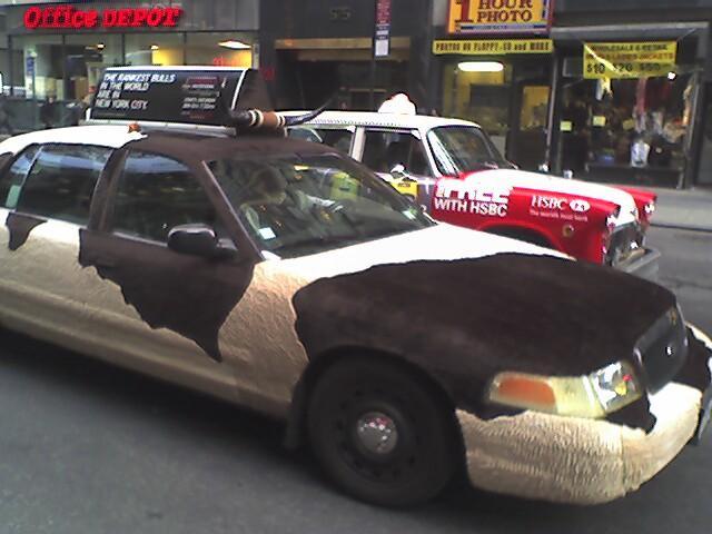 Машины-коровы : Пятнистые машины