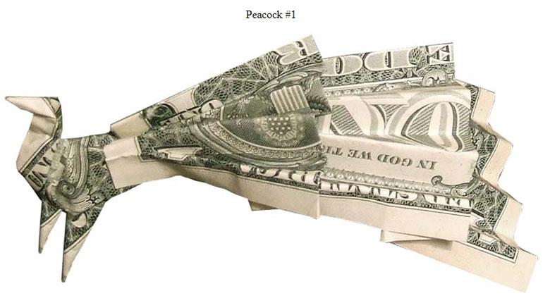Оригами из доллара