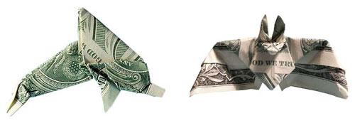 Денежные оригами