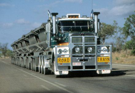 Самый длинный автопоезд в мире
