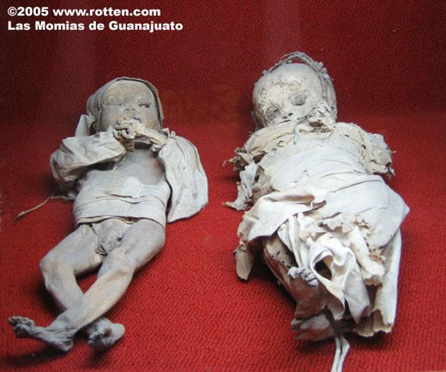 Мумии Guanajuato