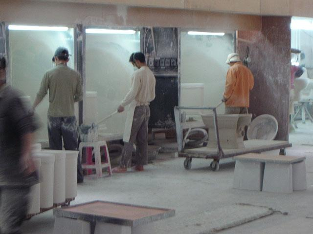 Фабрика унитазов в Китае