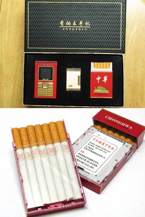 Мобильник для курящих
