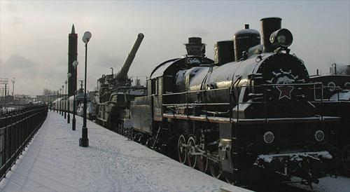 Ракетный поезд