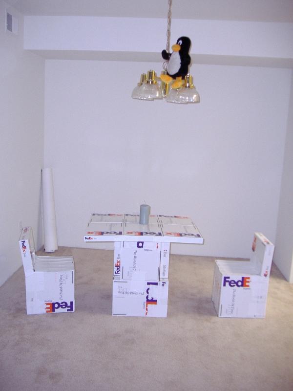 Офис из упаковки