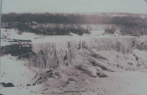 Когда замерзла Ниагара