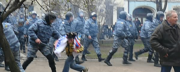 Марш Несогласных - Москва