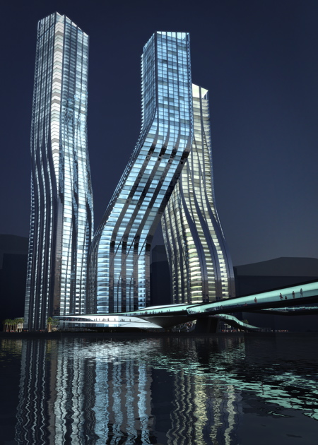 Танцующие башни