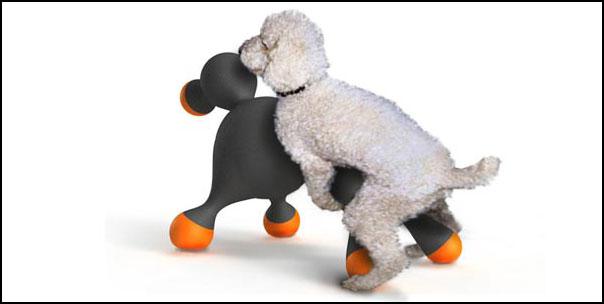 Резиновая кукла для собаки