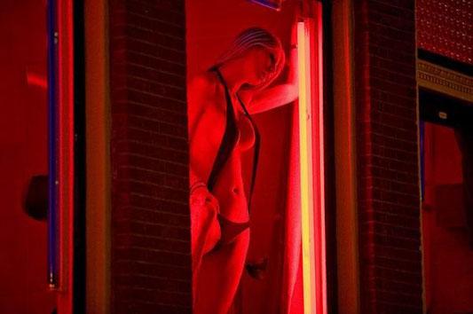 Красные фонари Амстердама