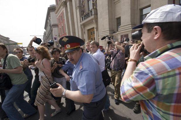 Гей-парад в Москве