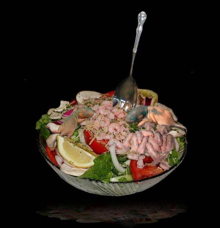 Еда не для слабонервных