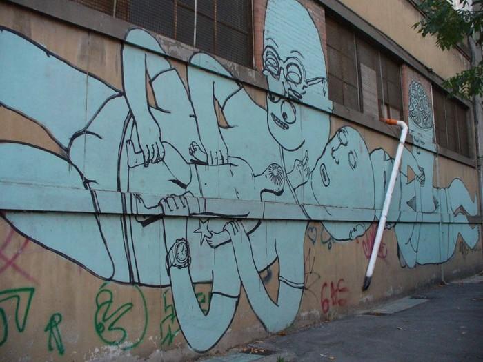 Итальянские граффити