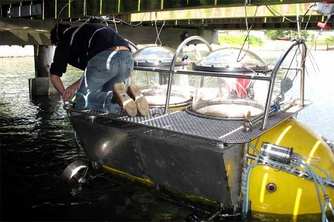 Подводная лодка своими руками погружаемая в воду для детей 29