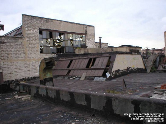Руины АЗЛК