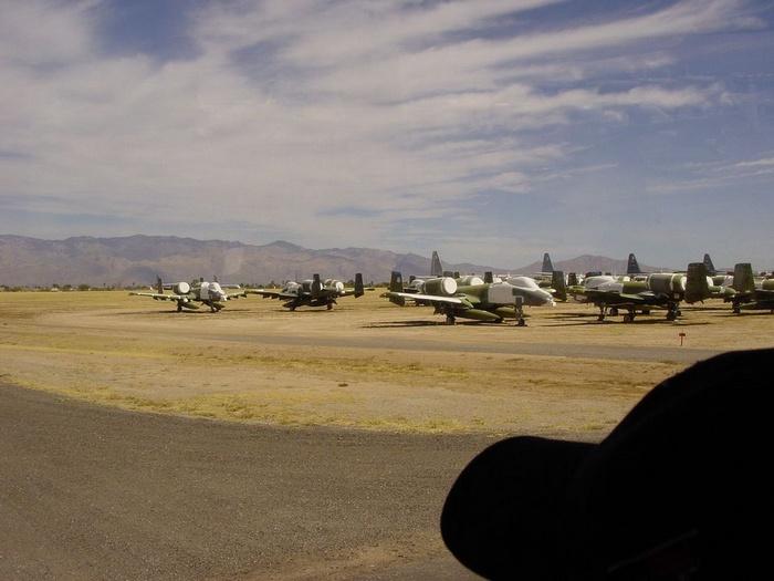 Военная авиабаза в Аризоне