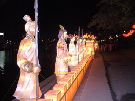 Фестиваль китайских фонариков
