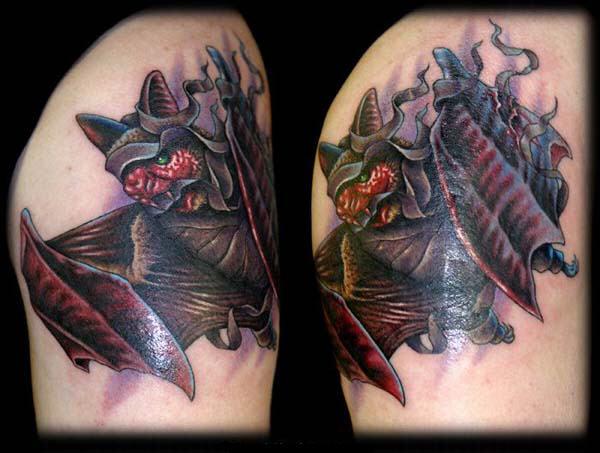 Татуировки Ника Бакстера