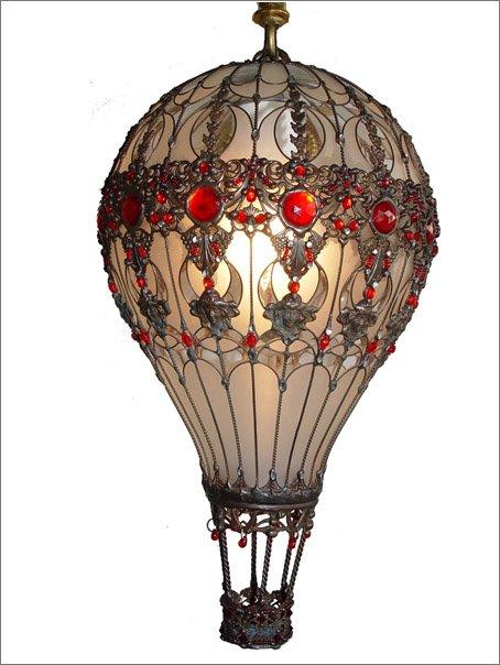 Как сделать воздушные шары из лампочек