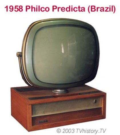 старый телевизор на новый