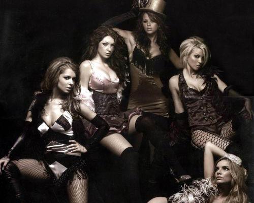 Girls Aloud : Календарь на 2007 год