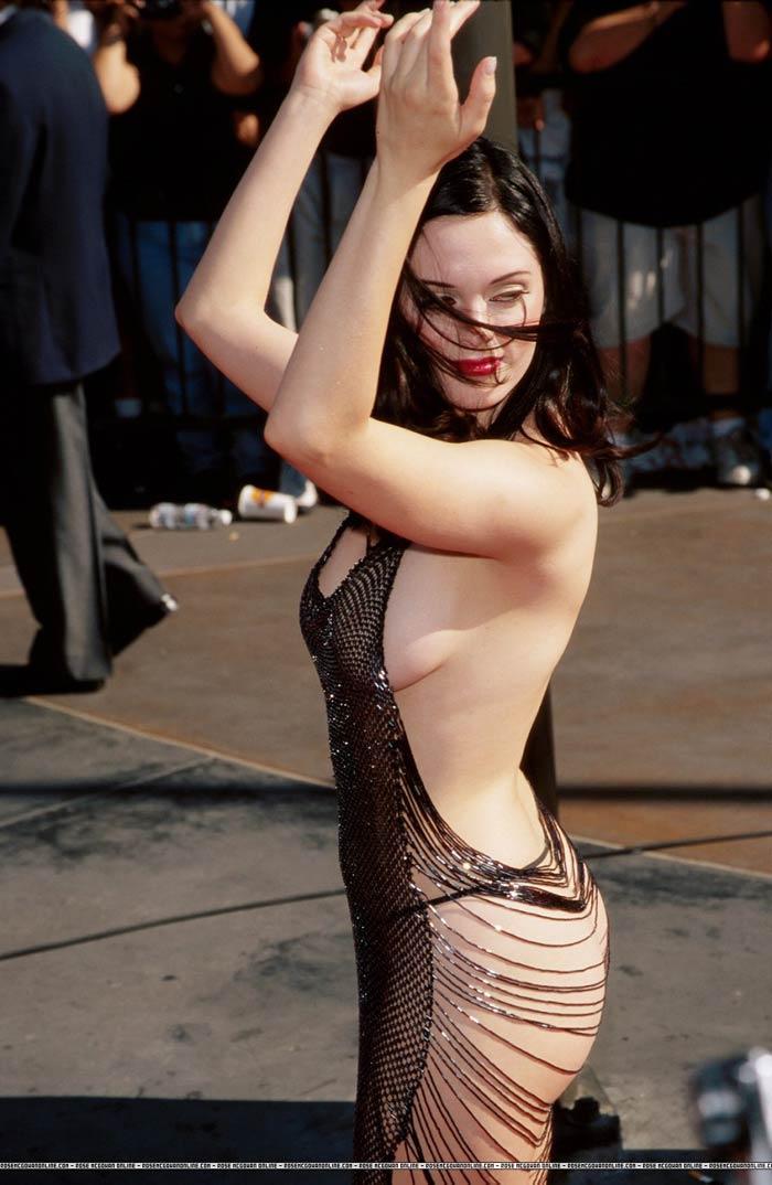 Rose McGowan в костюме русалки