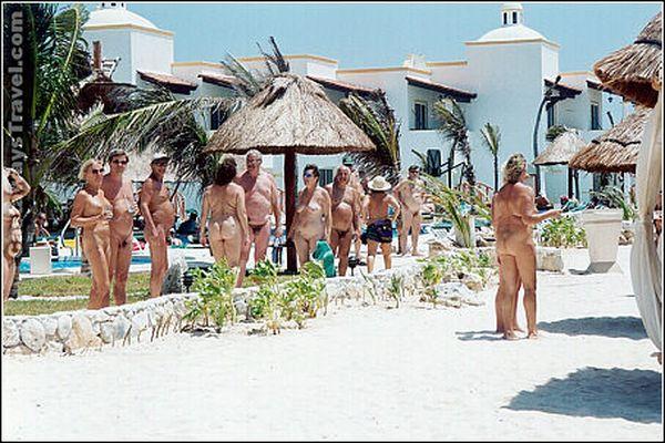 Отдых в нудистских отелях Мексики  вылет из Казани